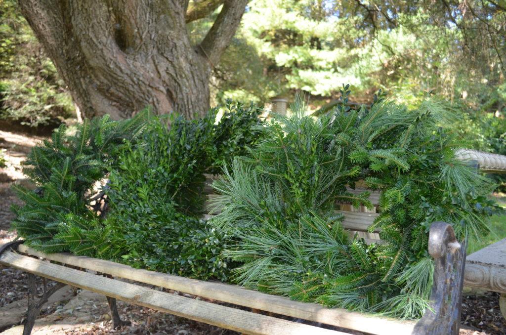 Evergreen wreaths