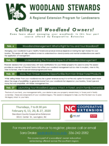 Cover photo for Woodland Stewards Webinar Series