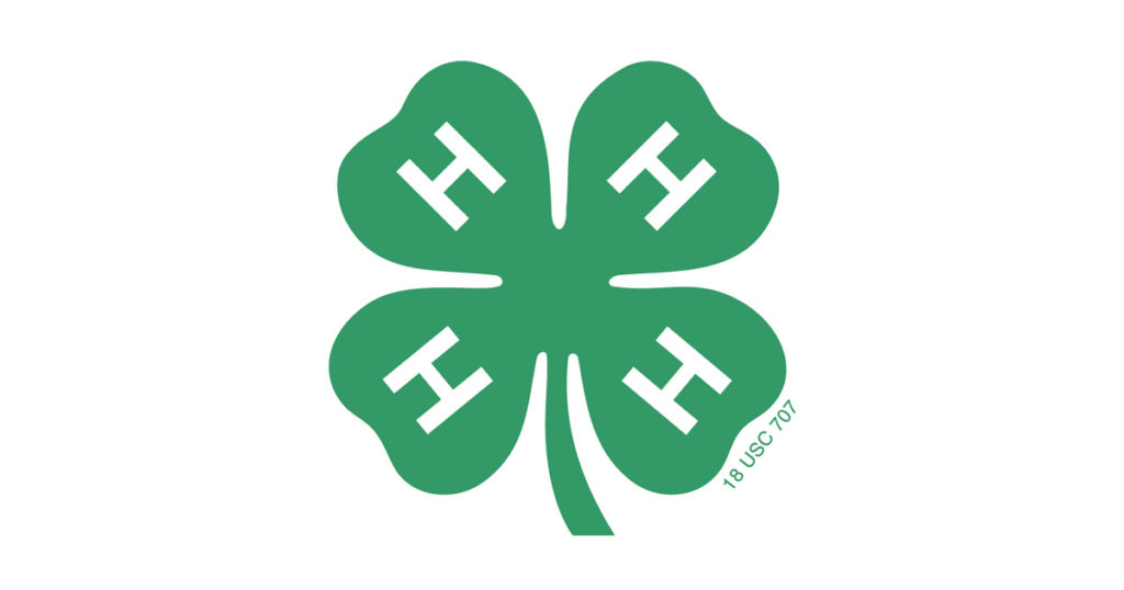 Official 4-H logo