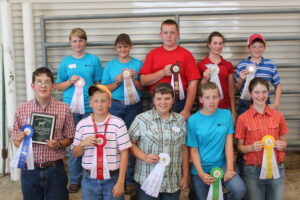 Cover photo for 2021 State 4-H Livestock Contest Results